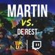Live om 14:30 uur: De eerste Martin vs. de Rest