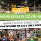 Heroes Dutch Comic Con 2020 is verplaatst vanwege coronavirus