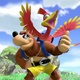 Banjo & Kazooie in Super Smash Bros Ultimate spelen vrij matig