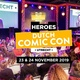 Heroes Dutch Comic Con kondigt wijziging in Special Guest line-up aan
