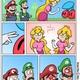 Twee Peaches + Mario & Luigi