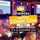 Zaterdag-tickets voor Heroes Dutch Comic Con volledig uitverkocht!